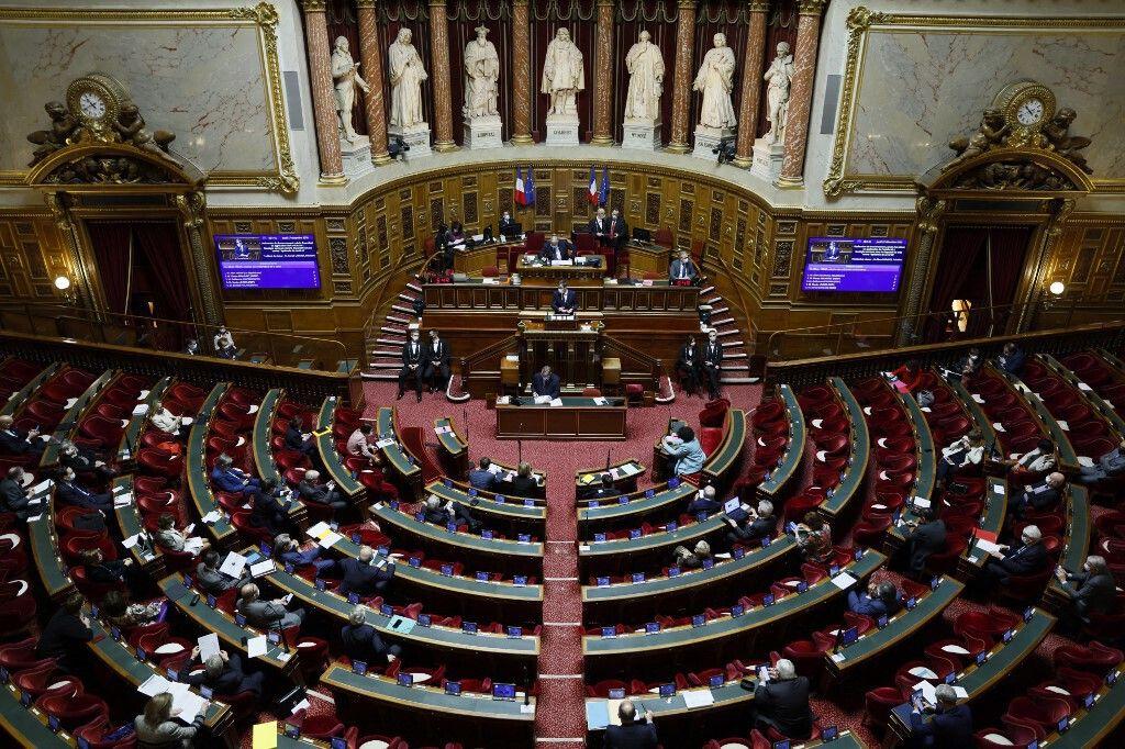 L'hémicycle du Sénat au palais du Luxembourg. (archives)
