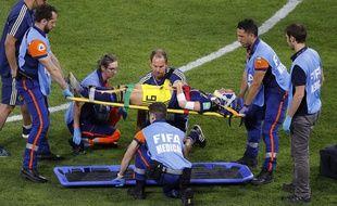 La Suédoise Kosovare Asllani était sortie sur civière après un choc à la tête.