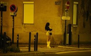 Illustration de la prostitution à Nante