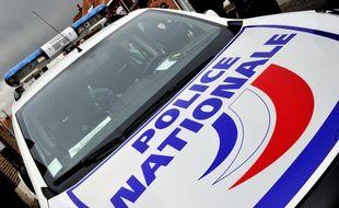 Illustration d'un véhicule de police