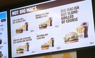 En Suède, Burger King a rebaptisé ses menus pour se moquer de McDonald's.