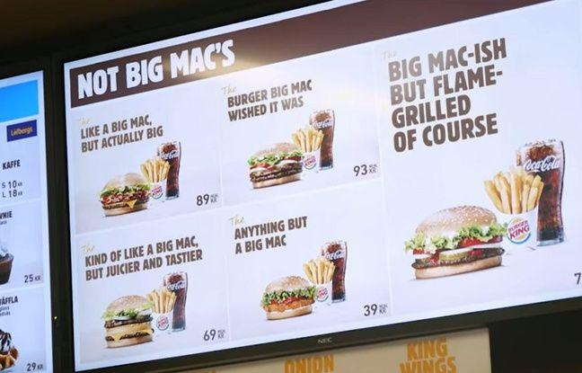 VIDEO. Quand Burger King trolle McDonald's et son Big Mac qui ne lui appartient plus vraiment...