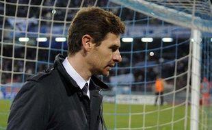 L'ex-entraîneur de Chelsea, André Villas-Boas, le 21 février 2012