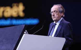 Noël Le Graët lors d'un congrès de la Fifa, le 6 juin 2019 à Paris.