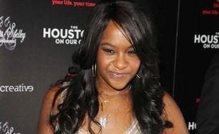 Bobbi Kristina, la fille de Whitney Houston et Bobby Brown, à une première en 2012.