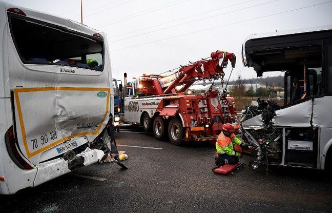 Un carambolage sur l'A13 a fait au moins 65 blessés dont 5 graves