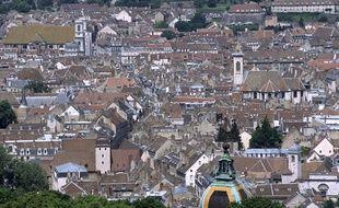 La ville de Besançon.