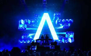 Un set du duo Axwell ∧ Ingrosso, en 2015.