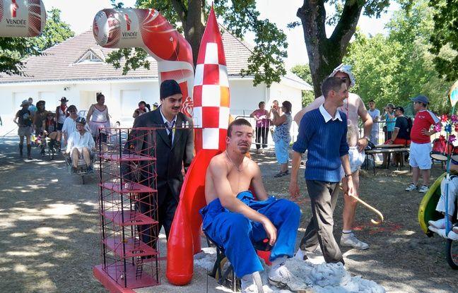 La fête de la brouette à Saligny en 2015.