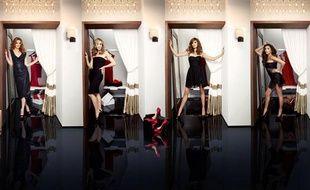 Les quatre héroïnes de la série «Desperate Housewives»: Marcia Cross (Bree Van de Kamp), Felicity Huffman (Lynette Scavo), Teri Hatcher (Susan Mayer) et Eva Longoria (Gabrielle Solis).