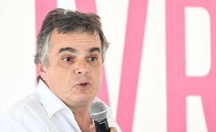 L'écrivain Alexandre Jardin au Festival du Livre de Nice en 2019.