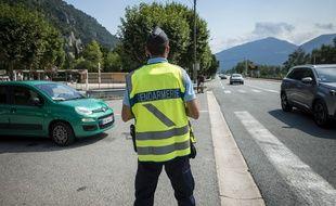 Un contrôle routier de gendarmerie (illustration).