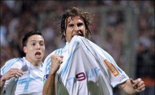 Marseille passe devant Toulouse, grâce à l'inspiration de ses internationaux, Ribéry (deux passes, un but), Cissé (une passe, un but) et Nasri (un but).
