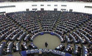 Parlement Européen de Strasbourg  (Illustration)