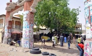 La ville de Maiduguri a connu plusieurs attentats le 7 mars 2015.