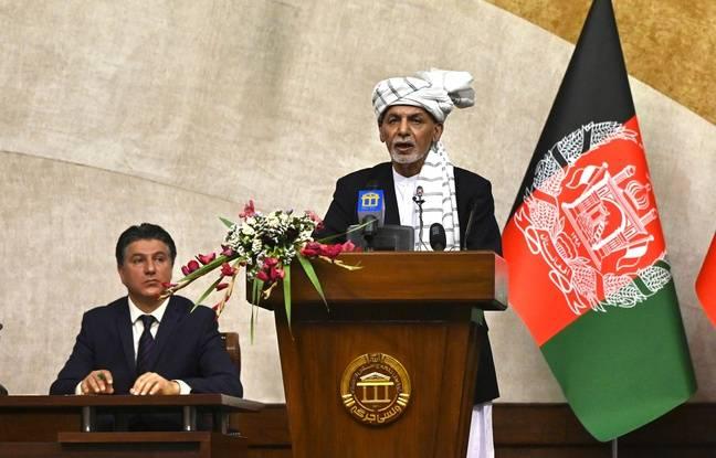 648x415 le president afghan ashraf ghani lors d un meeting le 2 aout 2021