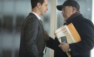 Jeremy Strong (Kendall Roy) et Brian Cox (Logan Roy) dans la série « Succession »