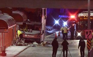 L'accident de bus est survenu à la station de Westboro, à Ottawa, le 11 janvier 2019.