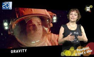 «Gravity» décrypté dans «Ciné Vié», l'émission cinéma de «20 Minutes»