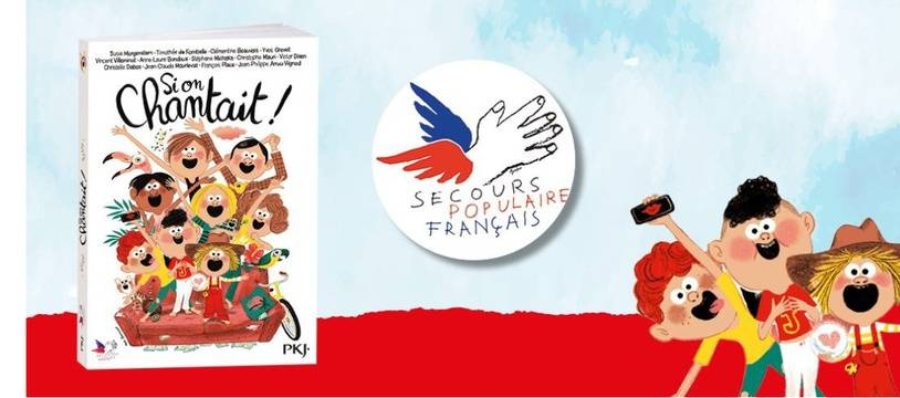 Visuel de promotion de l'ouvrage « Si on chantait » publié chez Pocket Jeunesse.