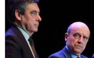 Le 23 mars 2015, Alain Juppé et François Fillon.