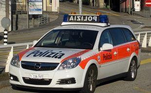 Un véhicule de la police suisse (illustration).