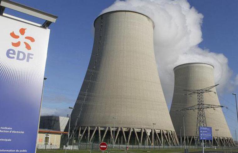La centrale nucléaire de Nogent-sur-Seine (Aube), le 5 décembre 2011.