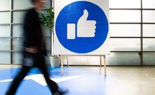 Image d'illustration du logo Facebook.