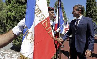 Emmanuel Macron à Saint-Raphaël, le 15 août, pour l'anniversaire du débarquement français.