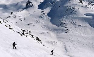 Des pistes de ski à Méribel en Savoie.