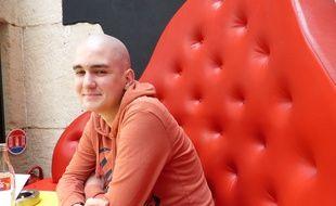Martin Besson, 20 ans, fondateur de Sans A.