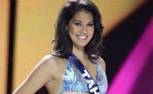 Mehiata Riara, Miss Tahiti 2013, le 7 décembre 2013.