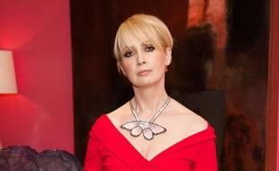 L'actrice britannique Lysette Anthony à Londres, le 12 avril 2017.