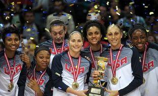 Les basketteuses américaines ont remporté le titre mondial le 5 octobre 2014.