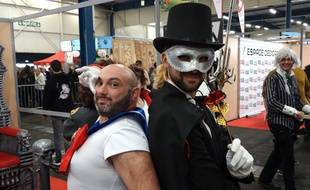 Sailor Moon et l'Homme masqué, bien présents au Toulouse Game Show.