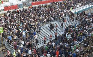 Le festival Rock am Ring, qui accueille plusieurs dizaines de milliers de spectateurs, a été évacué, le 2 juin 2017 pour cause de menace terroriste.