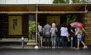 Les habitants de Zurich ont pu visiter les «sexboxes» installées dans leur ville et qui seront opérationnelles dès le lundi 26 août 2013.