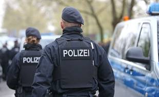 Des policiers allemands (photo illustration).