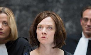 """Odile Vuillemin dans le téléfilm """"L'Emprise"""" diffusé sur TF1."""