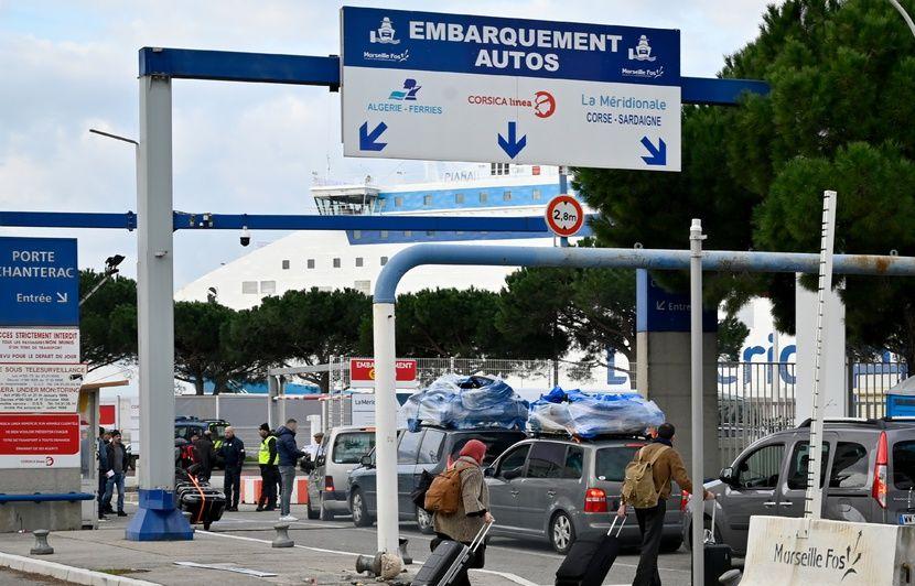 Marseille : Des traversées vers l'Algérie et la Corse annulées