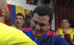 Aveugle et sourd, Jose Richard vit les matchs grâce à son ami César