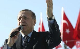Le président turc Recep Tayyip Erdogan, le 6 janvier 2017.