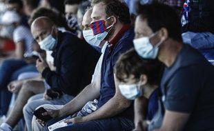 Une photo de fans du SM Caen pour illustrer une brève Premier League ? Ouais, et alors ?