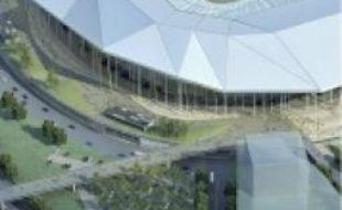 Un grand stade est en projetà Lyon.
