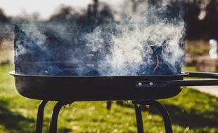 Un barbecue (illustration).