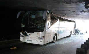 Accident d'un car espagnol le 26 juillet 2015 à La Madeleine à Lille