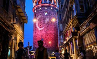 La tour de Galat / AFP PHOTO / OZAN KOSE