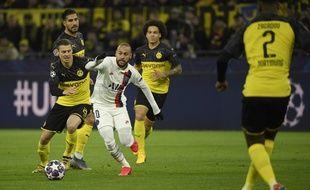 Neymar face à Dortmund en 8e de finale de Ligue des champions, le 18 février 2020.