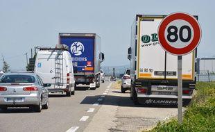 Le montant des amendes pour excès de vitesse n'a pas augmenté avec le passage à 80 km/h.