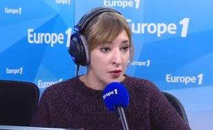 Nadia Daam, lors de sa chronique du 1er novembre 2017 sur Europe 1.